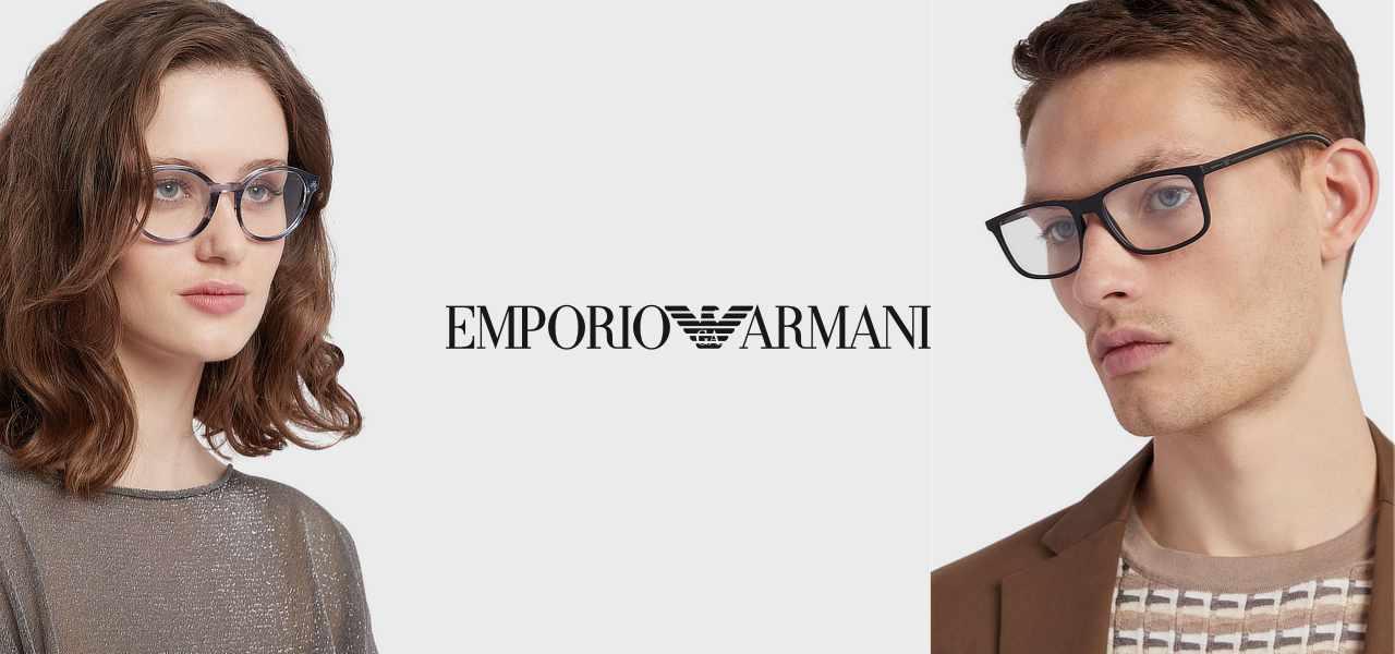 emporio armani eyewear hero